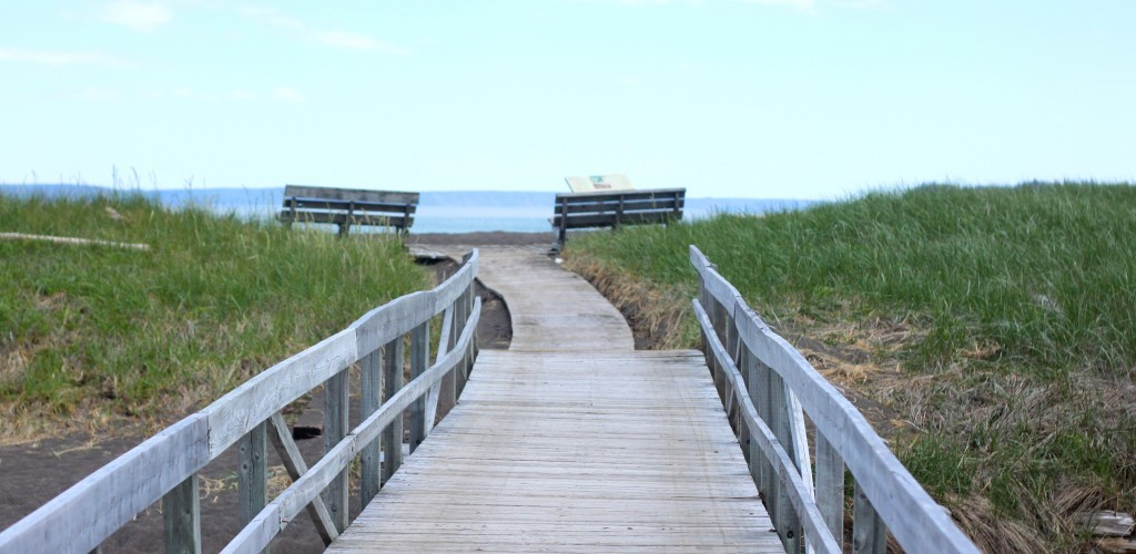 Walkway to Herring Cove Provincial Park